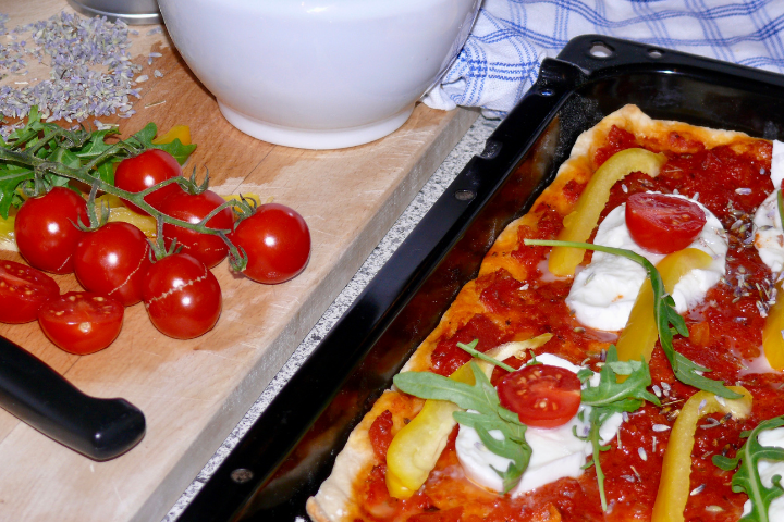 Pizza-Rucola